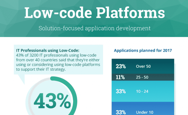 Low-code Infographic